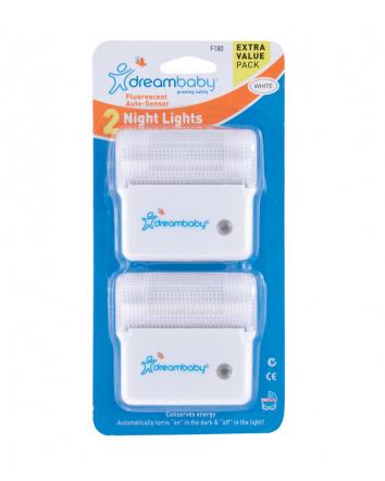 FLUORESCENT NIGHT LIGHT 2 PACK