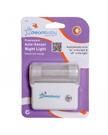 FLUORESCENT AUTO-SENSOR NIGHT LIGHT 1 PACK