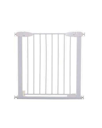 BOSTON MAGNETIC AUTO-CLOSE SECURITY GATE  - WHITE