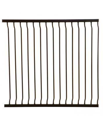 LIBERTY XTRA-TALL 100CM GATE EXTENSION - BLACK