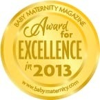 Baby Maternity Magazine Award 2013 - Excellence Award
